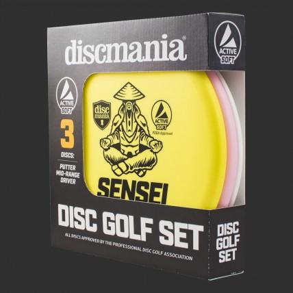 Стартовий набір Диск-Гольф дисків для новачка Discmania Active Line Soft